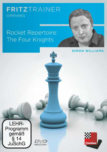 Rocket Repertoire: The Four Knights - Chess Opening Software on DVD