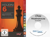 "Houdini 6 Standard - Chess Playing Software on DVD and ""Chess Masterpieces"" E-Book"
