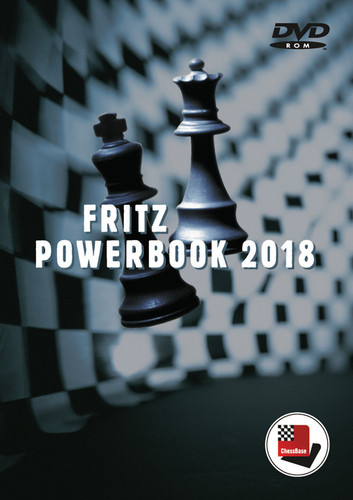 UPGRADE Fritz PowerBook from 2017 to 20178- Chess Database Software on DVD
