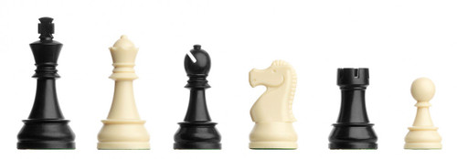 The Plastic Electronic Chess Pieces by DGT