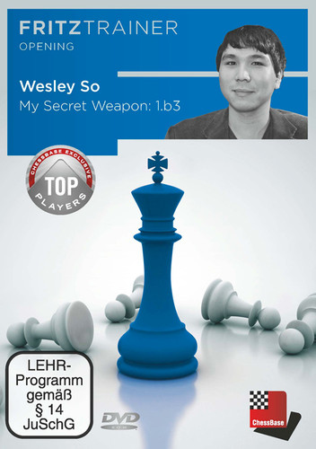 My Secret Weapon: 1.b3 (Nimzowitsch-Larsen Attack) - Chess Opening Software on DVD