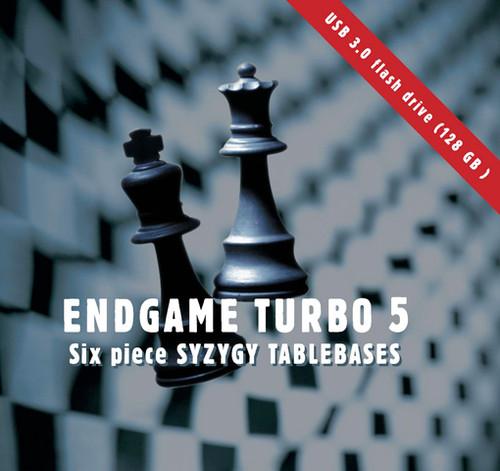 Endgame Turbo 5 – USB 3.0 Flash Drive (128 GB) Chess Database