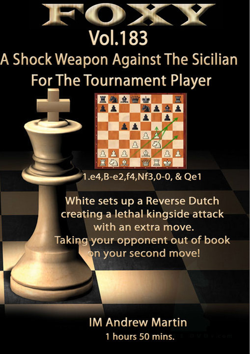 Foxy 183: A Shock Weapon against the Sicilian - Chess Opening Video Download