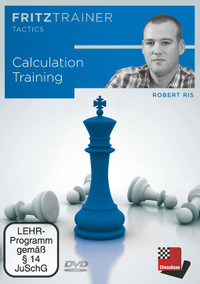 Calculation Training - Chess Middlegame Software on DVD