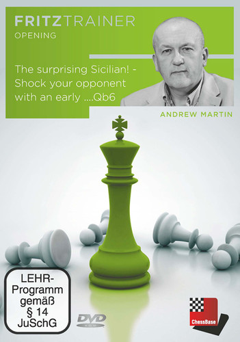 The Sicilian: Shock your Opponent with an Early ...Qb6 - Chess Opening Software on DVD