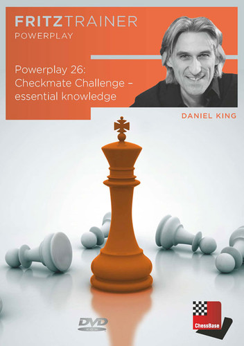 Power Play 26: Checkmate Challenge, Essential Knowledge - Chess Endgame Software DVD