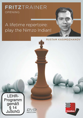 A Lifetime Repertoire: Play the Nimzo-Indian! - Chess Opening Software on DVD