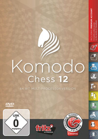 Komodo 12 - Chess Playing Software on DVD