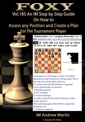 Foxy 185: How to Evaluate Positions & Create Plans (Part 1) - Chess Strategy Video Download