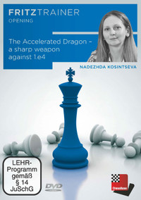 The Accelerated Dragon: A Sharp Weapon Against 1.e4 - Chess Opening Software PC-DVD