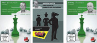 Meeting the Gambits, Vol. 1 & 2: Gambits plus First Steps in Gambits and Sacrifices - Chess Opening Software PC-DVD