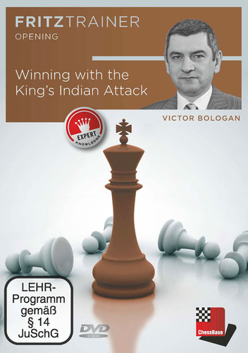 Winning with the King's Indian Attack - Chess Opening Software PC-DVD