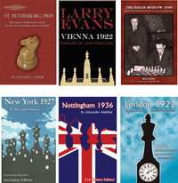 Classic Chess Tournament Books-