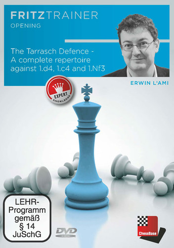 The Tarrasch Defense: A Complete Repertoire against 1.d4, 1.c4 and 1.Nf3 - Chess Opening Software PC DVD