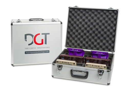 Universal Storage Case for Ten DGT clocks