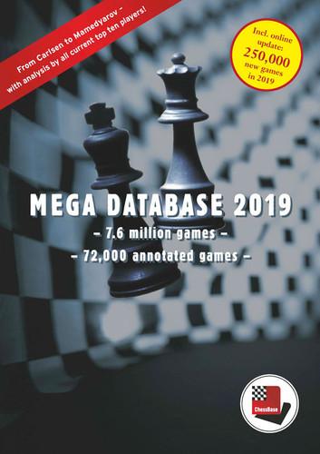 Mega Database 2019 - Chess Database Software & Basic Chess Skills Test