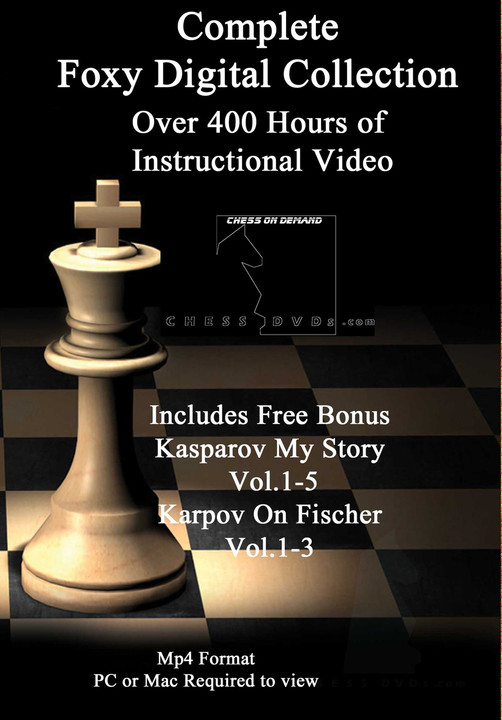 Foxy Chess Openings 187 Video Special - Get 9 DVDs & FREE Shipping  Worldwide!