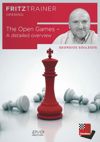 The Open Games (1.e4 e5): A Detailed Overview (PC-DVD) - chess software by Georgios Souleidis