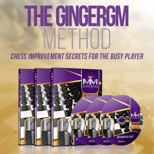 The GingerGM Method: Chess Improvement Secrets for the Busy Player - Video Chess Course Download by Simon Williams