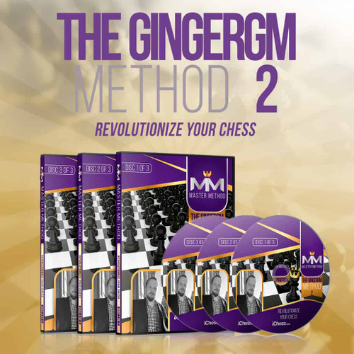 GingerGM Method 2: Mastering Chess Tactics & Revolutionize Your Chess - Training Course Video Download by Simon Williams
