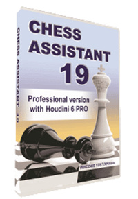 Chess Assistant 19 Pro with Houdini 6 Pro - Database Management Software Download