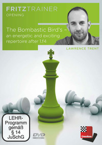The Bombastic Bird's: An Energetic and Exciting Repertoire after 1.f4 - Chess Opening Software DVD