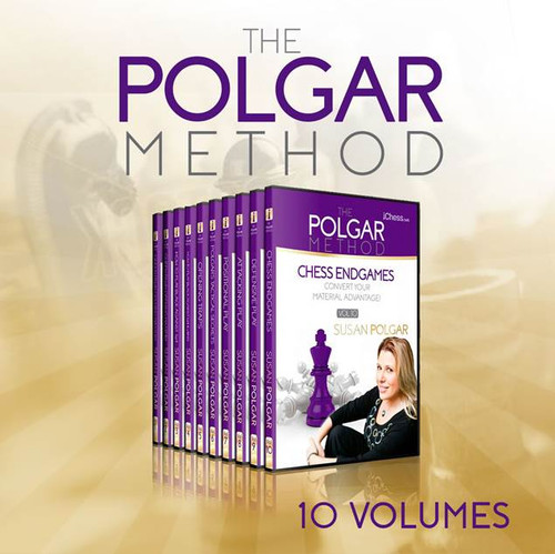 The Polgar Method: 10 Volume Complete Chess Course for Club Players - Video Download
