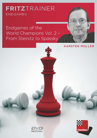Endgames of the World Champions, Vol. 2: From Steinitz to Spassky - Chess Endgame Software DVD