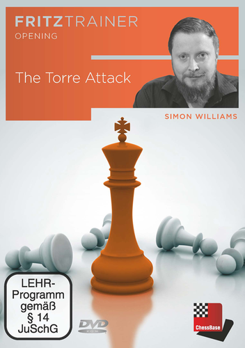The Torre Attack - Chess Opening Software DVD simon williams