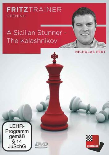A Sicilian Stunner: The Kalashnikov - Chess Opening Software DVD