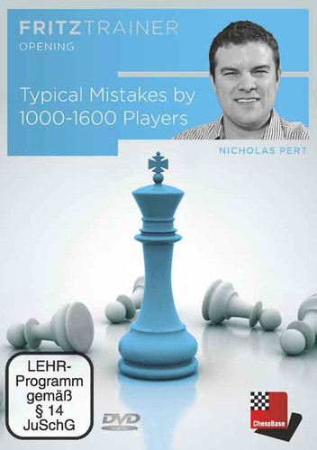 Typical Mistakes by 1000-1600 Players - Chess Software PC-DVD