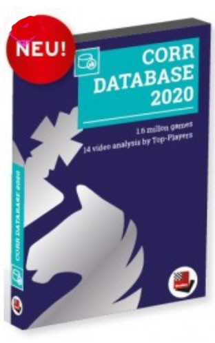 ChessBase Corr. Database 2020UPGRADE from 2018 - Chess Software Game Database