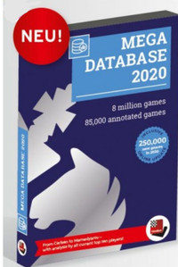 UPGRADE Mega Database 2020 from ANY Mega - Chess Database Software