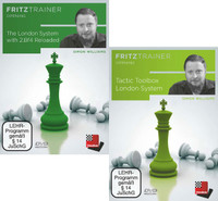 he London System with 2.Bf4 Reloaded and Tactic Toolbox London System - Chess Opening Software on DVD
