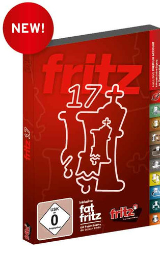 Fritz 17 Chess Playing Software Program for Download