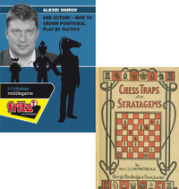 And Action! Crown Positional Play with Tactics - Chess Training Software DVD PLUS Chess Traps and Stratagems - Instructional E-Book Download
