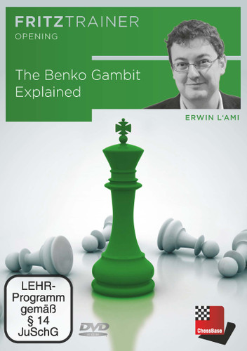 The Benko Gambit Explained - Chess Opening Software Download