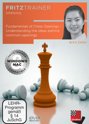 Fundamentals of Chess Openings - Chess Opening Software for Download