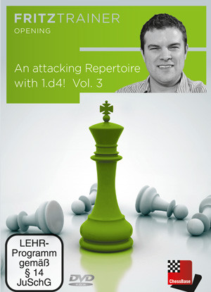 Attacking Repertoire with 1.d4, Part 3 : King's Indian, Grünfeld and Sidelines - Chess Opening Software Download