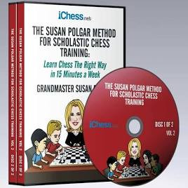 The Susan Polgar Method for Scholastic Chess Training, Vol. 1 - Chess Course Video Download