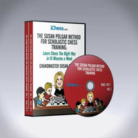 The Susan Polgar Method for Scholastic Chess Training Vol. 2 - Chess Course Video Download