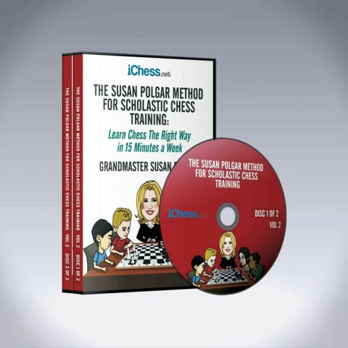 The Susan Polgar Method for Scholastic Chess Training, Vol. 2 - Chess Course Video Download