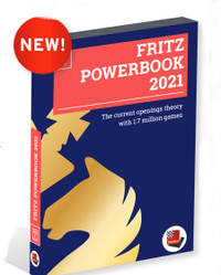 Fritz Powerbook 2021 - Chess Game Database Software on DVD