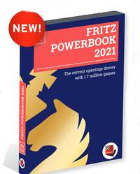 Fritz Powerbook 2021 UPGRADE from 2020 - Chess Database Software on DVD
