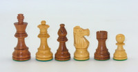 The Kirkwood Chess Pieces with 3.25inch King