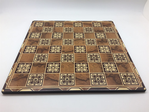 """Marrakesh Decoupage Chess Board 2""""Square"""