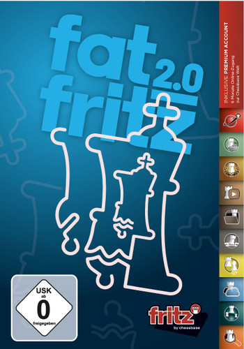 Fat Fritz 2.0 Chess Playing Software download