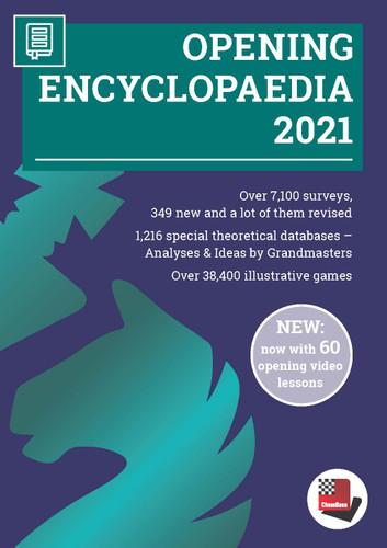 ChessBase Opening Encyclopedia 2021 - Chess Database DVD