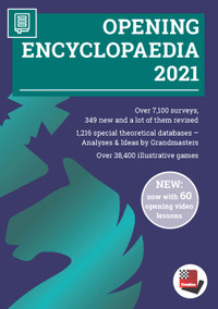 Opening Encyclopaedia 2021 Upgrade from Opening Encyclopaedia 2020 1 - Chess Database DVD
