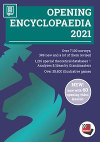 Opening Encyclopaedia 2021 Upgrade from Opening Encyclopaedia 2020 1 - Chess Database DVD